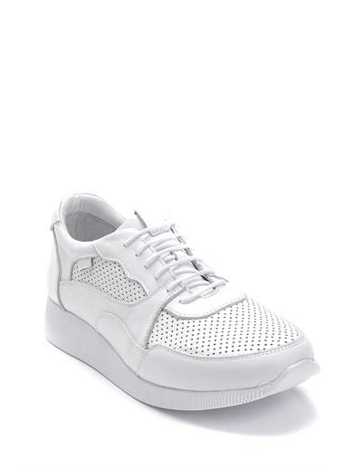 Derimod Kadın Ayakkabı(2125) Casual Beyaz